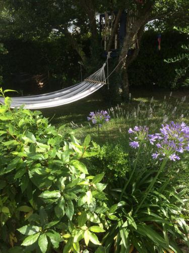 Gemütliche Hängematte im Garten